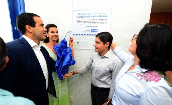 [Prefeitura inaugura Unidade de Acolhimento para crianças e adolescentes no Jardim Baiano]