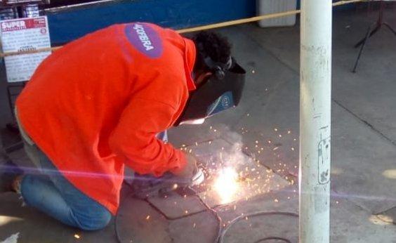 [Em janeiro, vandalismo em iluminação pública custou mais de R$ 18 mil à Prefeitura]
