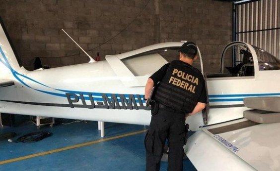 [PF realiza operação contra o tráfico internacional de drogas]