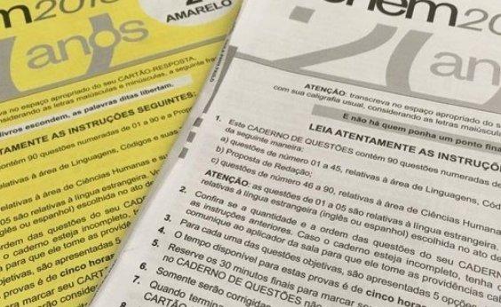 [Governo Bolsonaro vai criar comissão para pente-fino ideológico de questões do Enem]