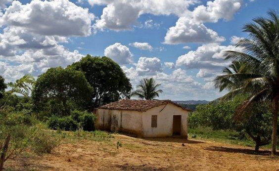 [Distrito quilombola em Aramari ganha 15 unidades habitacionais]