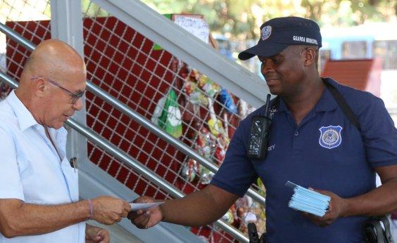 [Guarda Civil reforça ações de prevenção à violência para o Carnaval]