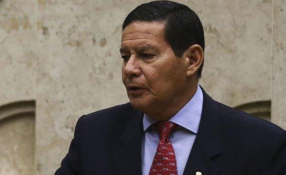 [Mourão diz que só vê confronto com Venezuela se Brasil for atacado]