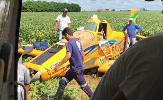 [Avião cai na Bahia e piloto não resiste aos ferimentos]