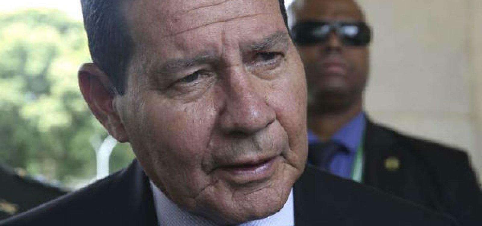 [Mourão vai à Colômbia para reunião sobre a crise venezuelana]