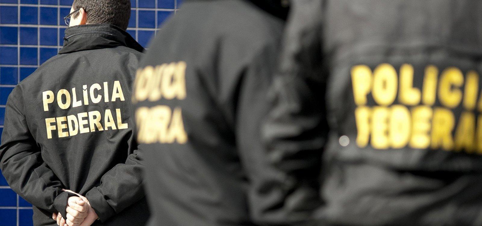 [Policiais civis e federais protestam contra mudanças propostas na reforma da Previdência]
