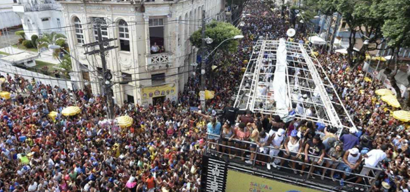 Circuito Osmar : Veja a programação completa deste domingo de carnaval circuito
