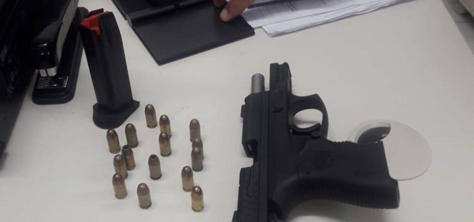 [Cinco armas de fogo são apreendidas na Operação Carnaval em toda a Bahia; três em Salvador]