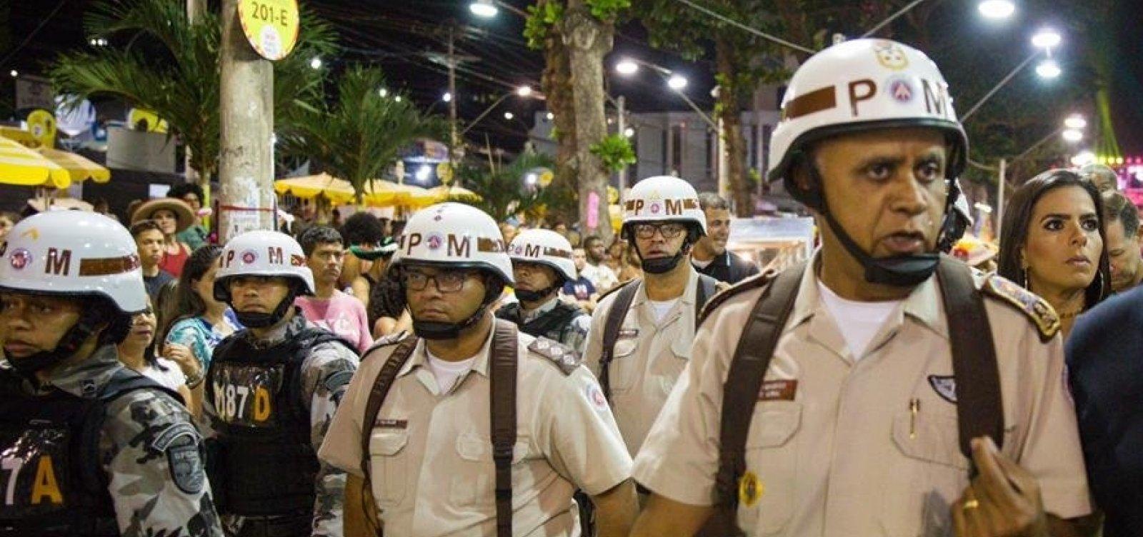 [Comandante da PM prevê redução de policiais circulando no Carnaval em 2020]