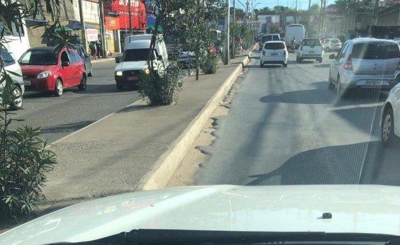 [Leitor denuncia ondulações no asfalto em São Cristóvão]
