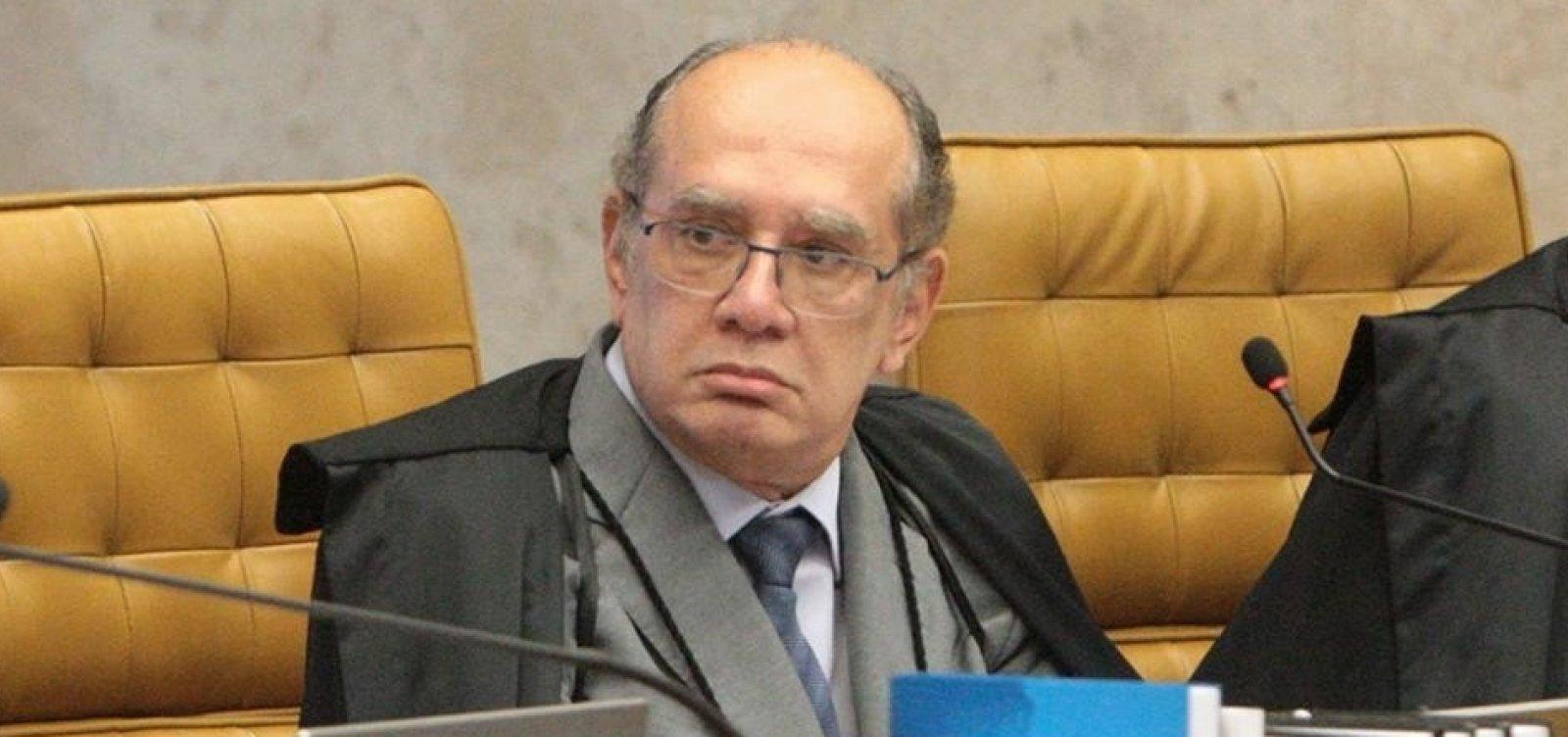 [PGR determina arquivamento de pedido de suspeição contra Gilmar Mendes]