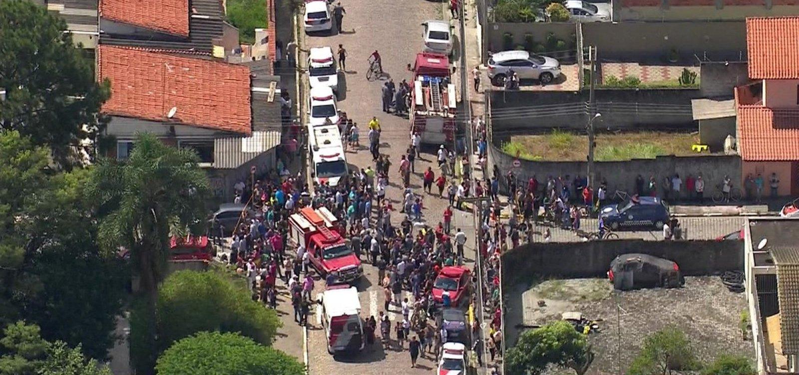 [Número de mortos em tiroteio em escola de São Paulo sobe para dez]