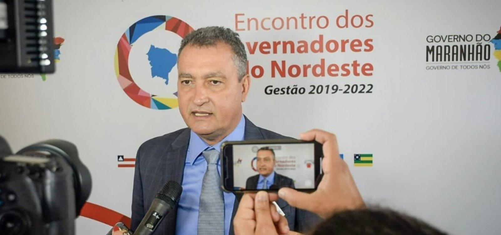 [Governadores do Nordeste criam consórcio e Rui é escolhido presidente]