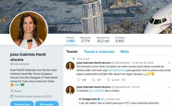 [CNJ quer explicações de juíza sobre conta 'Gabriela Hardt sincera' no Twitter]