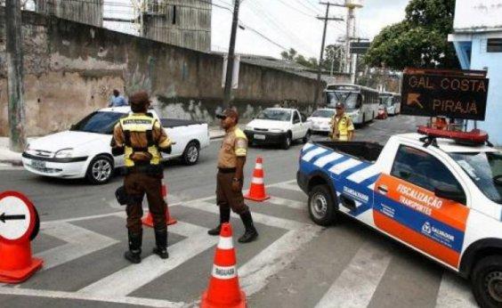 [Eventos alteram trânsito em seis bairros de Salvador; veja mudanças]