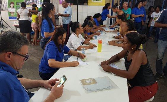 [Projeto Prefeitura-Bairro Itinerante beneficia moradores do Vale da Muriçoca ]