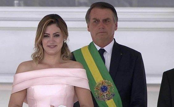 [Planalto 'testa' desempenho de Michelle Bolsonaro ]