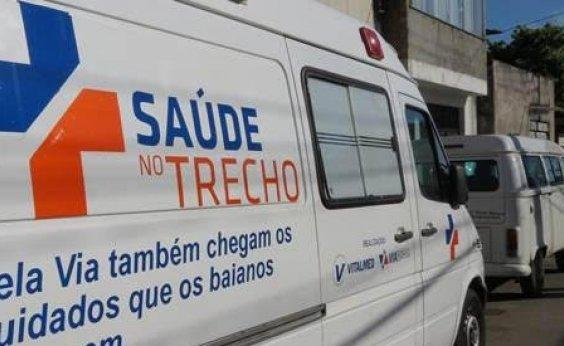[Projeto leva atendimento de saúde gratuito para 26 municípios baianos]