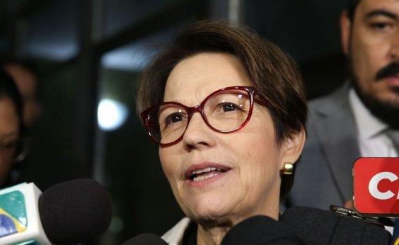 [Brasil precisa de investimentos para expandir agricultura, diz ministra]