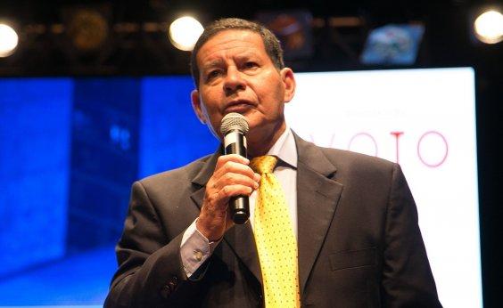 [Mourão defende comemoração 'intramuros' de aniversário do golpe de 64]