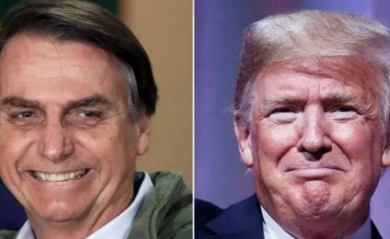 [Bolsonaro será recebido por Trump nesta terça-feira]