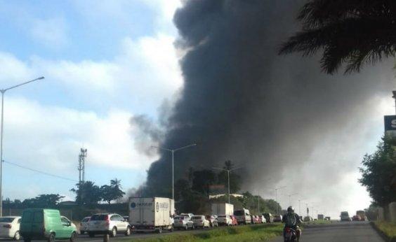 [Após incêndio, Codesal avalia evacuação de mais imóveis na região da fábrica de colchões]