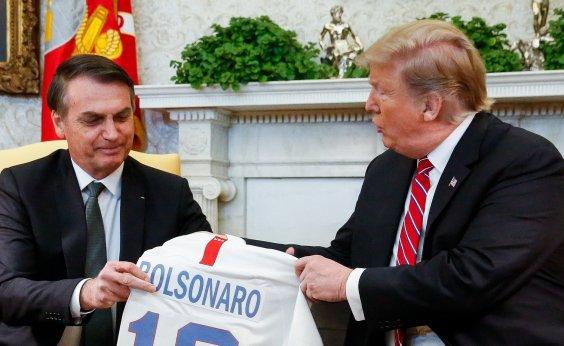 [Em encontro com Bolsonaro, Trump não descarta intervenção na Venezuela]