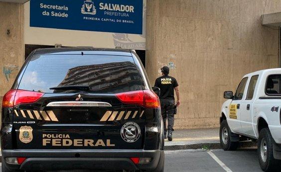 [PF deflagra operação contra esquema criminoso na Saúde de Salvador]