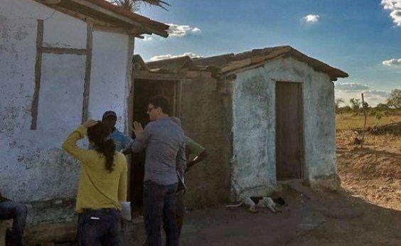 [Trabalhadores são resgatados em situação semelhante à escravidão em fazenda na Bahia ]