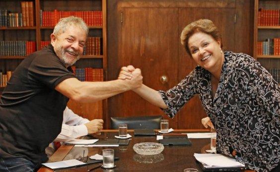 [Lula diz que prisão de Temer é 'fora da lei'; Dilma fica perplexa com notícia]