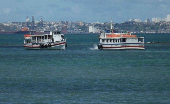[Travessia Salvador-Mar Grande é suspensa devido à maré baixa]