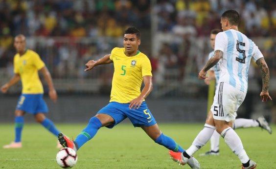 [Casemiro será o capitão da Seleção no amistoso contra o Panamá]