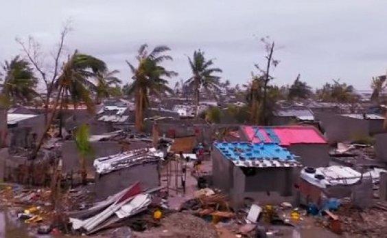 [Sobe para 557 o número de mortos por ciclone no sul da África]