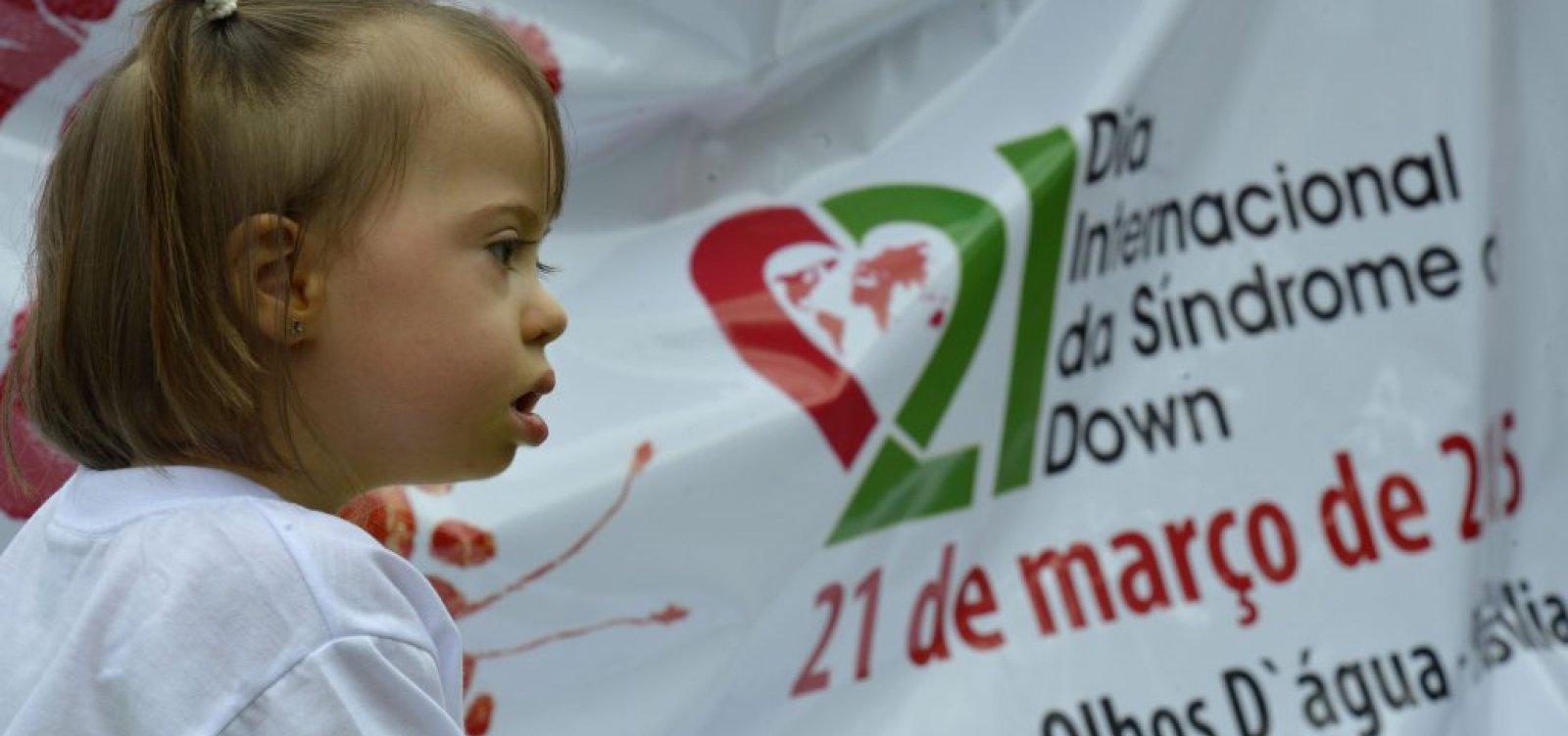 [Dia Internacional da Síndrome de Down será lembrado com atividades neste domingo]