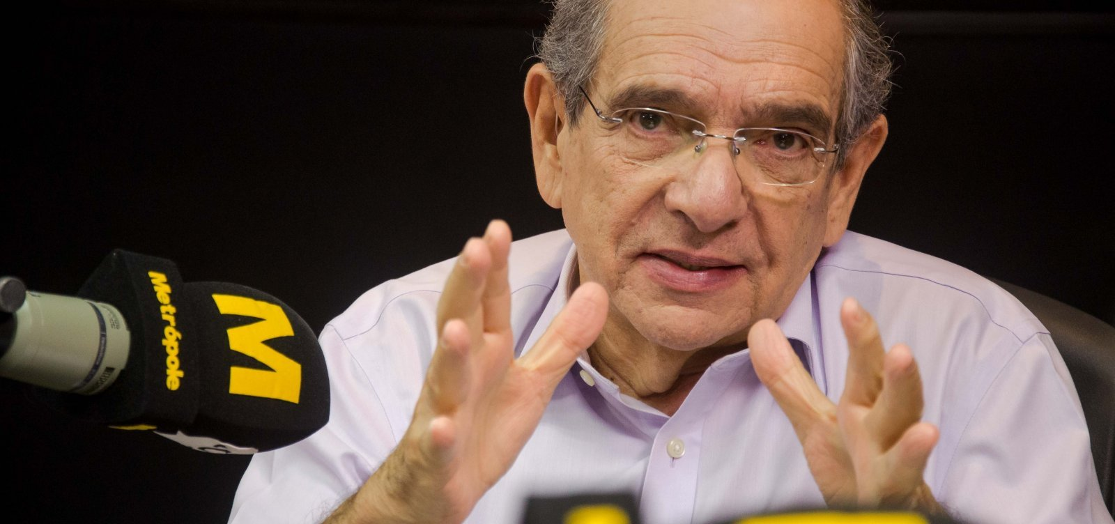 [MK elogia postura de Maia e pede que Bolsonaro preze por clima de paz; ouça]