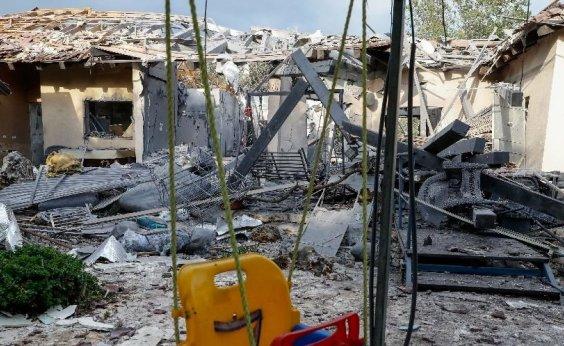 [Foguete lançado de Gaza atinge Tel-Aviv e deixa sete feridos]