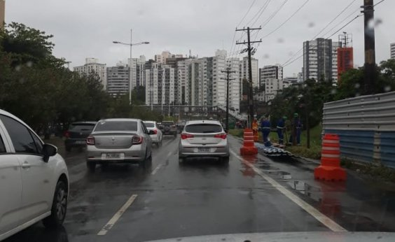 [Em quatro dias, volume de chuva em Salvador supera o previsto para o mês inteiro]