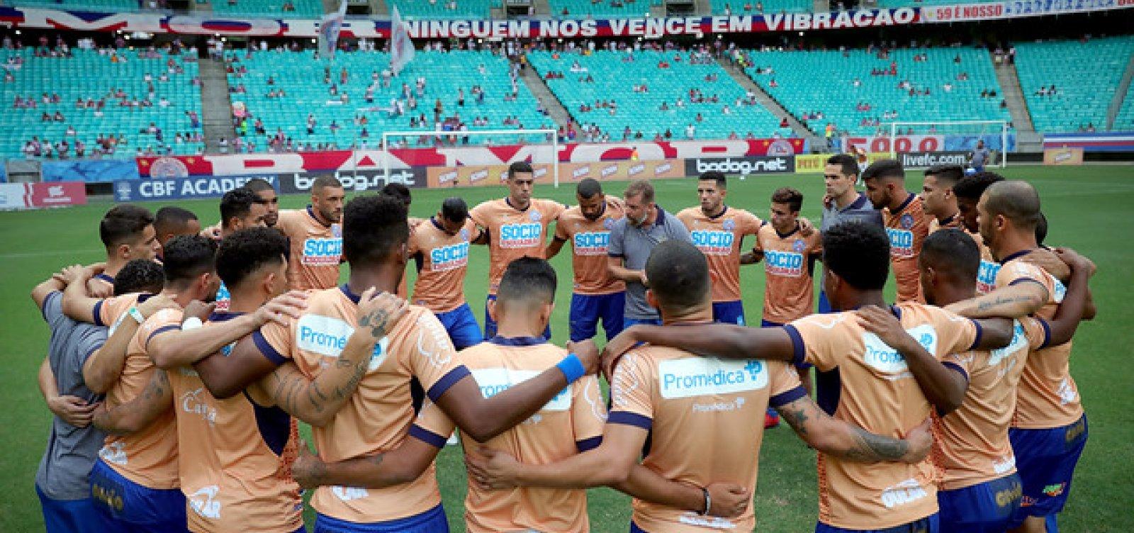 [CBF divulga tabela da Série A; Bahia enfrenta o Corinthians na estreia]