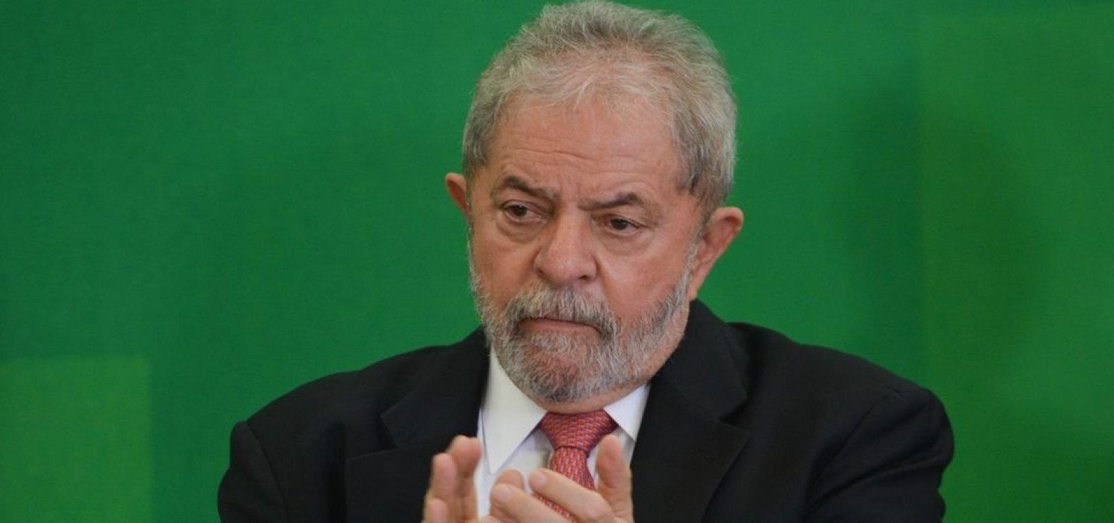 [Salvador terá ato a favor da liberdade de Lula no domingo]