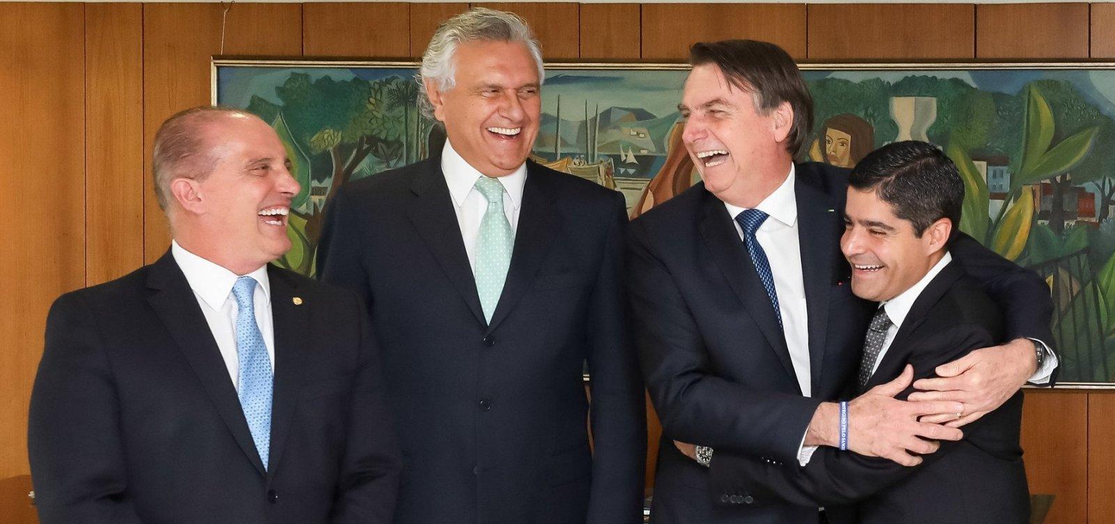 [ACM Neto diz que DEM pode integrar base de Bolsonaro]