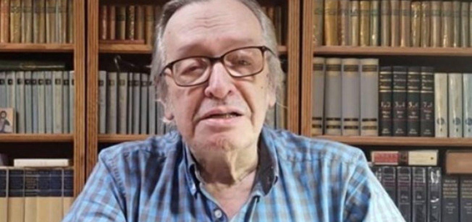 [Olavo critica Vélez após Bolsonaro sinalizar demissão do ministro]