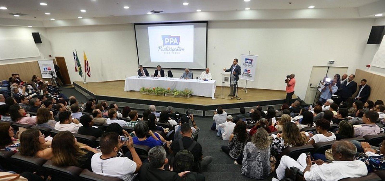 [Plano que vai orientar governo da Bahia nos próximos quatro anos é lançado]