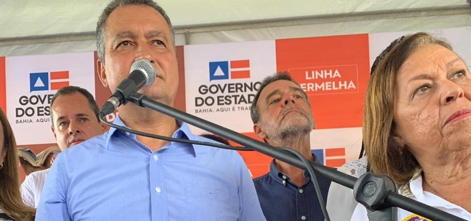 [Rui diz que governo federal não honrou compromissos e deu 'calote' na Bahia]
