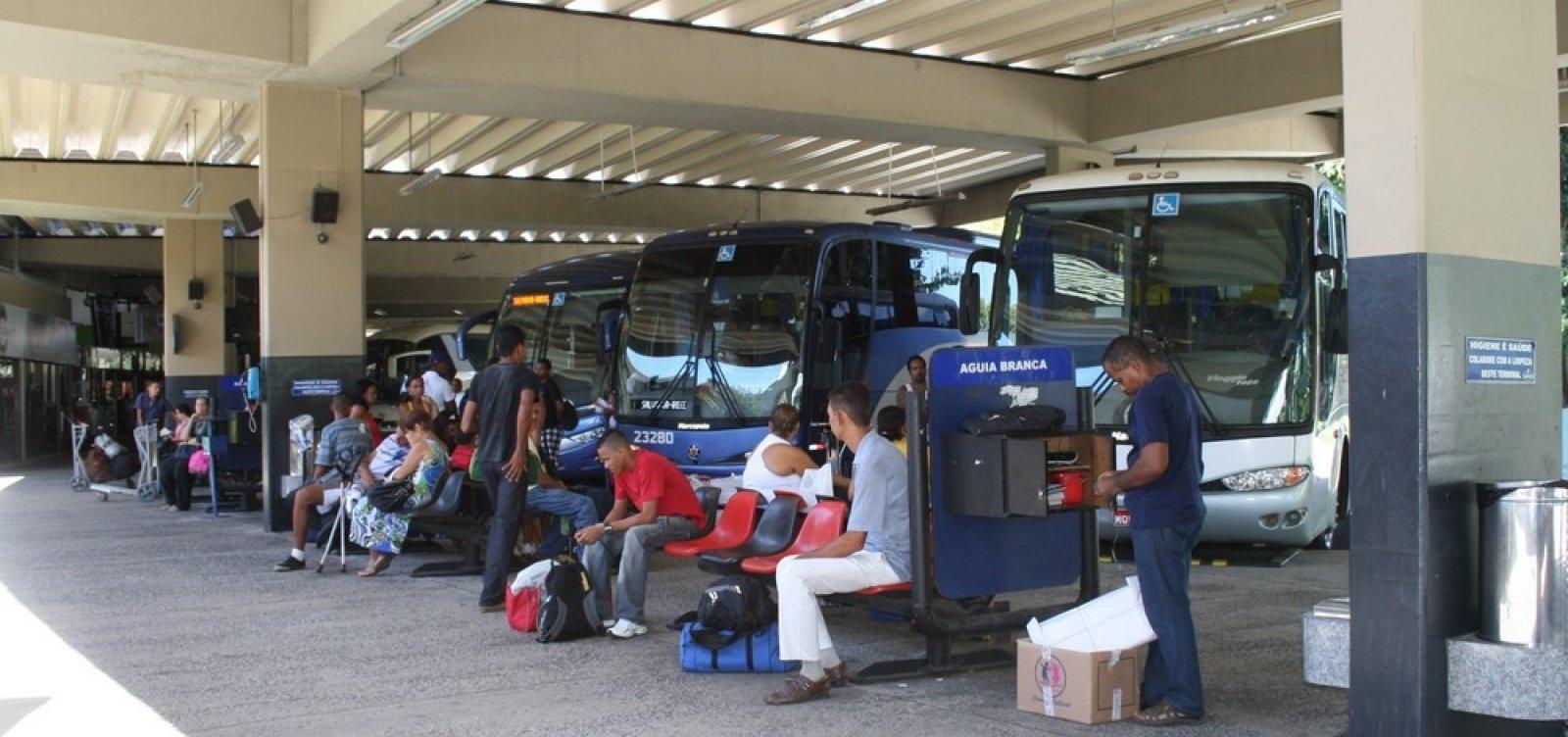 [Rodoviária de Salvador terá 150 horários extras no feriado da Semana Santa]