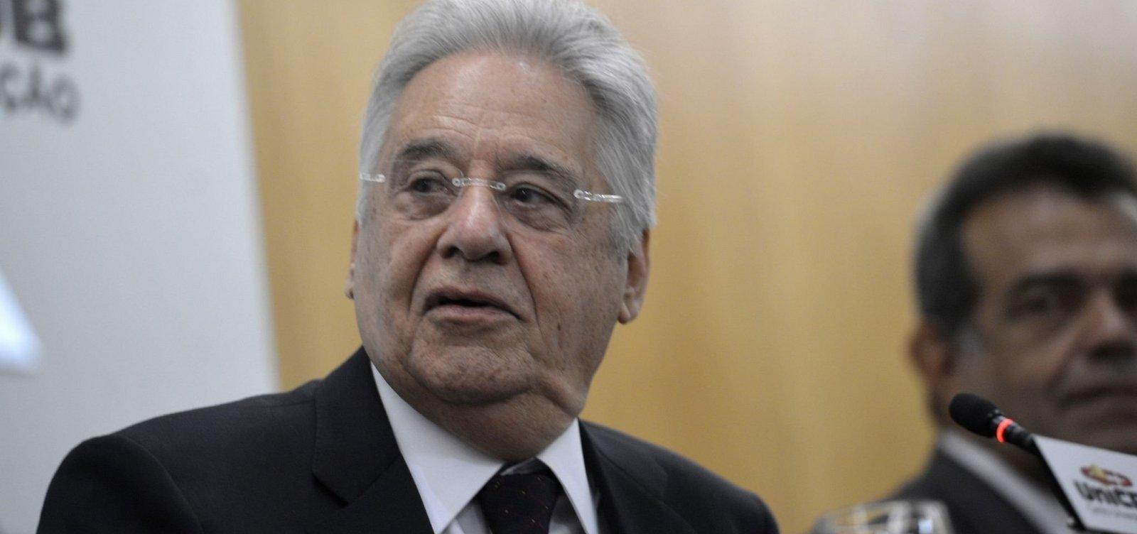 [Uso da força na Venezuela teria 'custo muito elevado', avalia FHC]