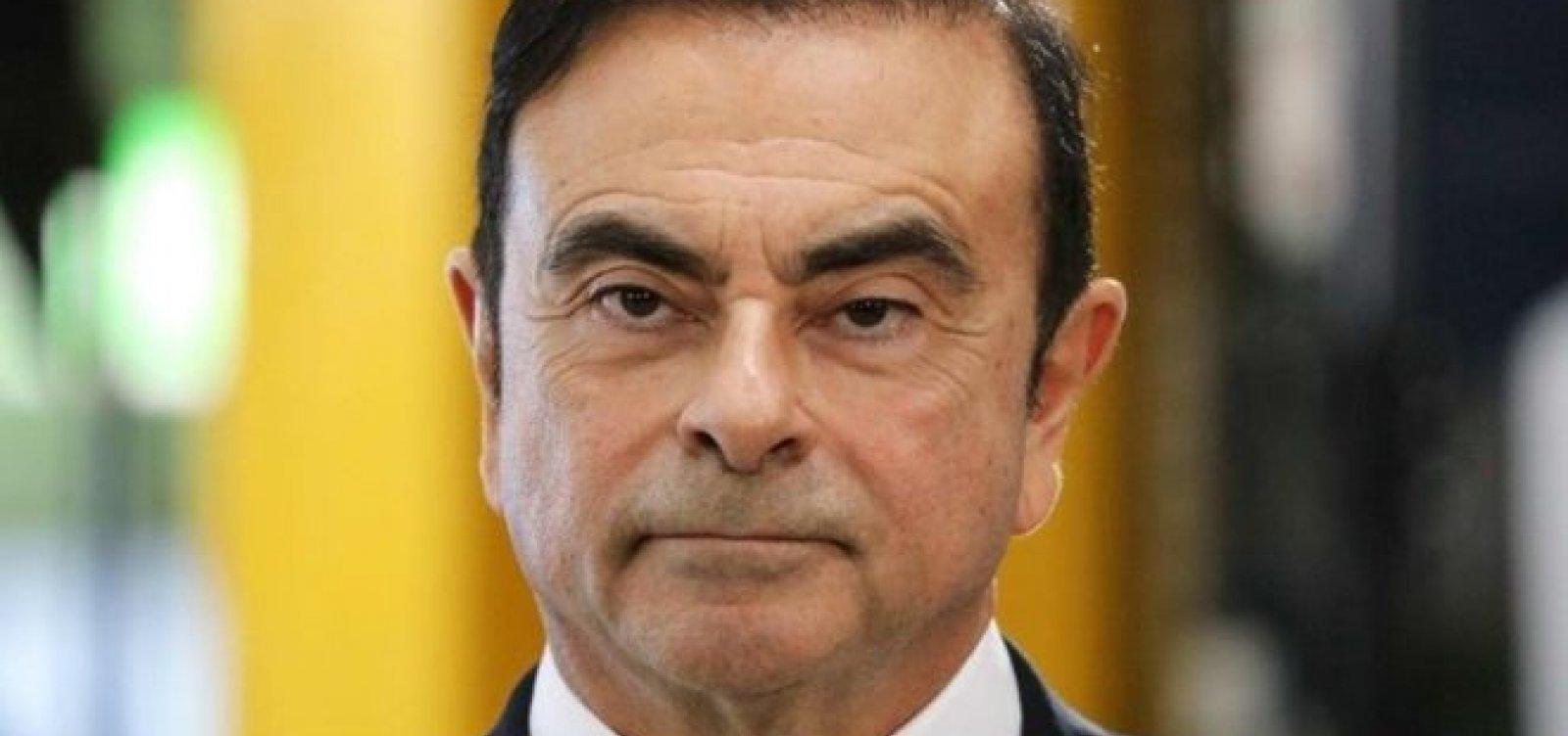 [França pede ao Japão que respeite direitos legais de Carlos Ghosn]