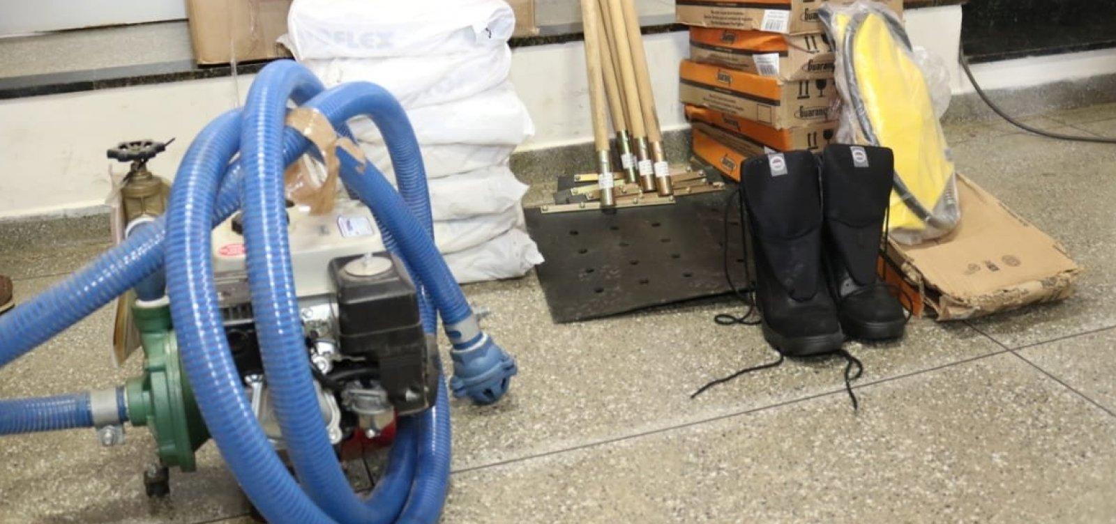 [Secretaria entrega equipamentos para Brigada Voluntária de Combate a Incêndios em Mucugê]