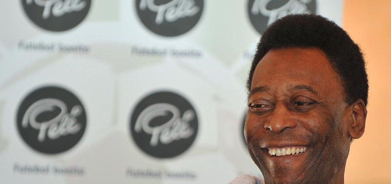 [Com infecção urinária, Pelé deve ter alta ainda nesta semana]