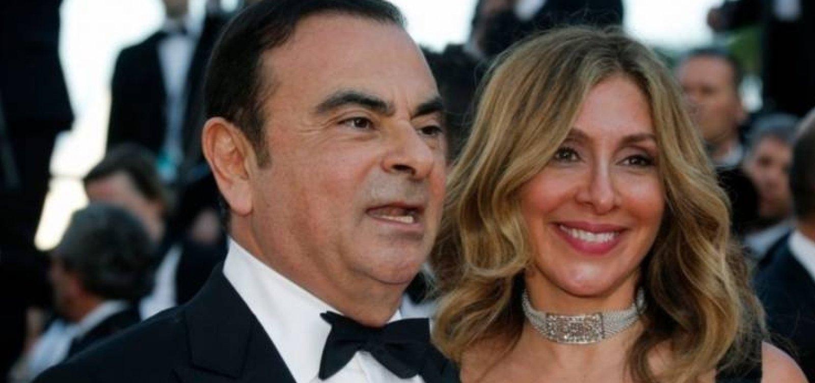[Esposa de Carlos Ghosn deixa o Japão para não enfrentar a justiça]