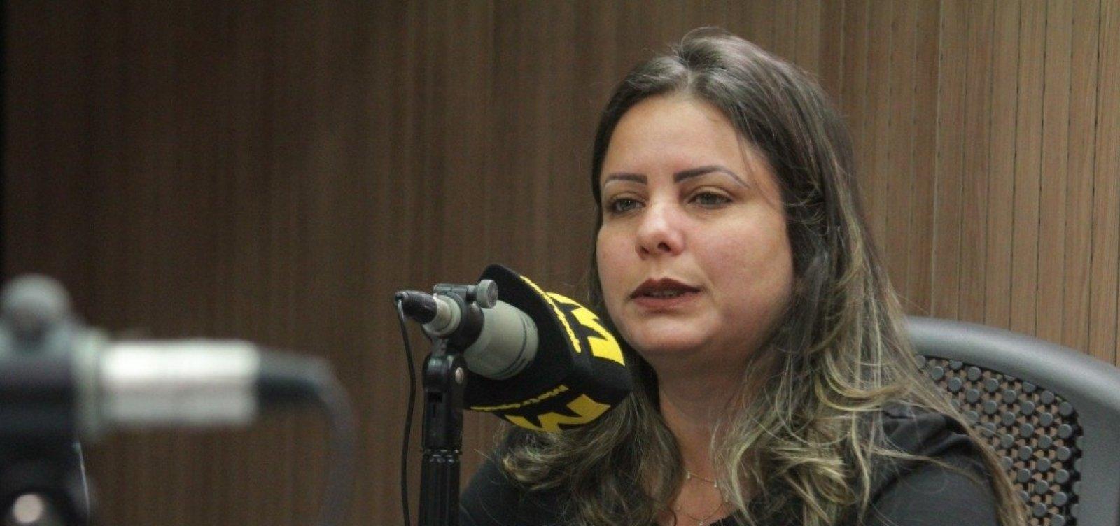 [Mirela diz que aceita desafio de ser candidata à prefeitura de Lauro de Freitas]